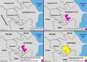 map of Nagorno-Karabakh ( Republic of ArtSakh ) history - Southfront.org